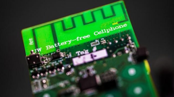 Nuevo móvil que se carga con energía medioambiental