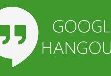 aplicación hangouts