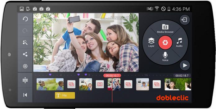 5 aplicaciones gratuitas para editar vídeos en tu Smartphone