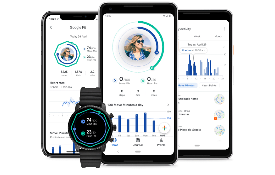 Google Fit llega al iPhone