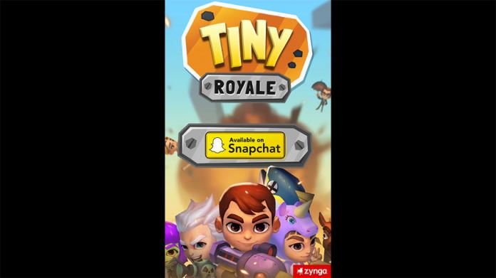 Snapchat lanza su primer juego móvil de batalla real