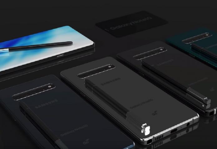 Filtran más detalles del Samsung Galaxy Note 10 y Note 10 Pro