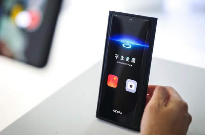 Oppo revela su tecnología para ocultar la cámara frontal bajo la pantalla de los smartphones