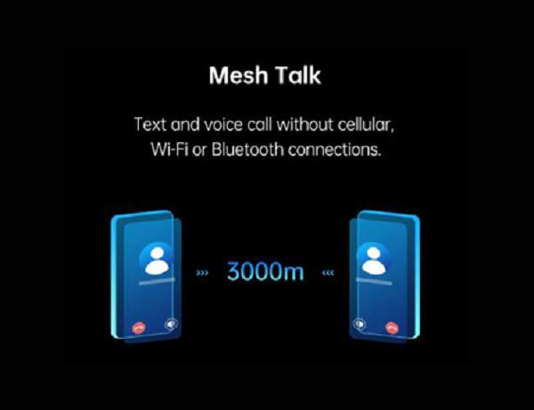 Mensajería sin Internet y llamadas sin cobertura serán posible gracias a MeshTalk de Oppo