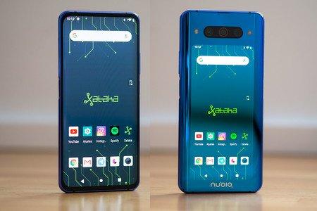 Nubia Z20 pantalla delante y detrás