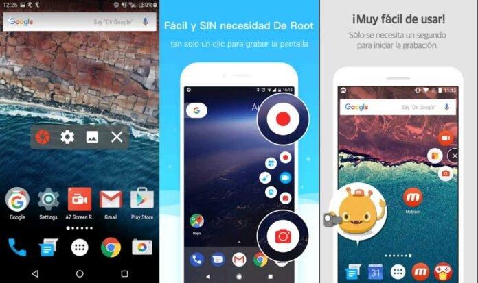 top 5 aplicaciones para grabar pantallas en android