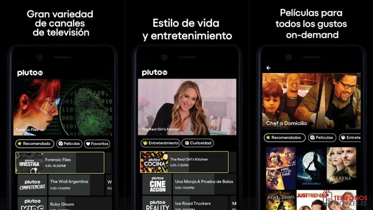 Pluto TV streaming gratis